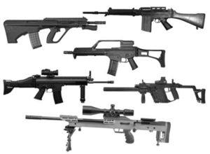 フリーのリアルな銃のブラシをご紹介