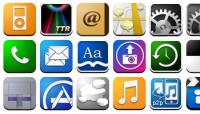 フリーなiPhoneのアプリ風アイコンを紹介