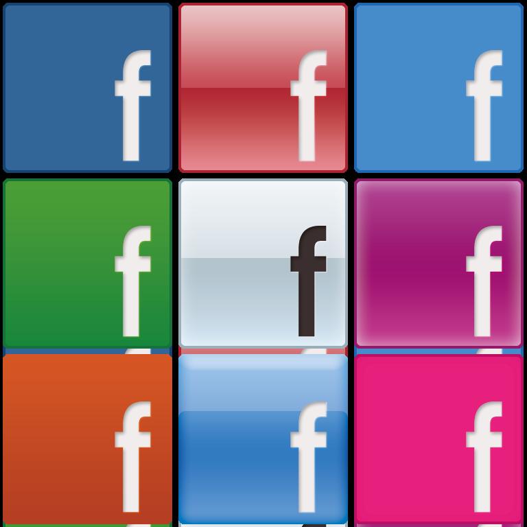 [作ってみた]なんか話題のFacebookのアイコン[9種類]