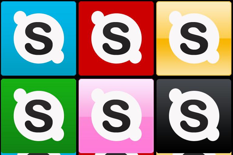 [自作]Skypeアイコンを作ってみました[フリー]