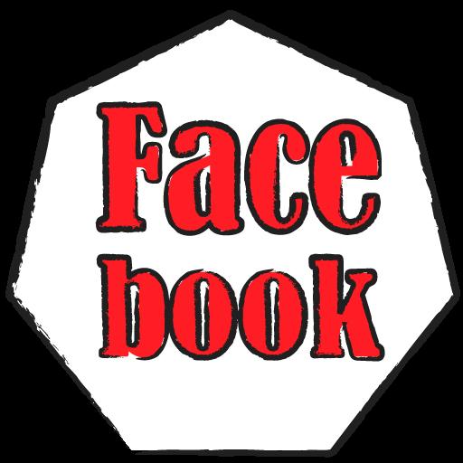 [フリー]7角形facebookアイコン[自作]