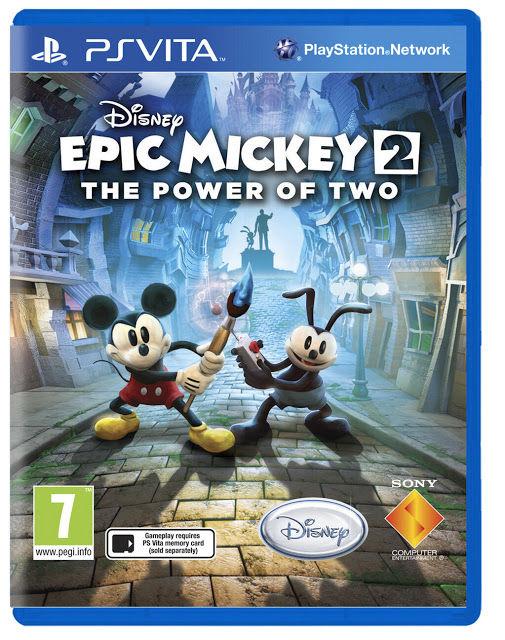 やった!Epic Mickey 2がPS Vitaで出るよ!日本出るかな・・・