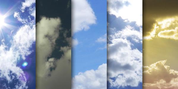 青空・雲のハイクオリティなテクスチャ
