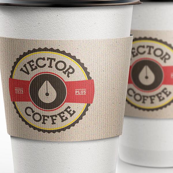 Illustratorで作る!コーヒーショップ風なロゴの制作チュートリアル