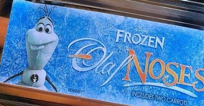 海外では、「アナと雪の女王」のオラフの鼻が売っている?!