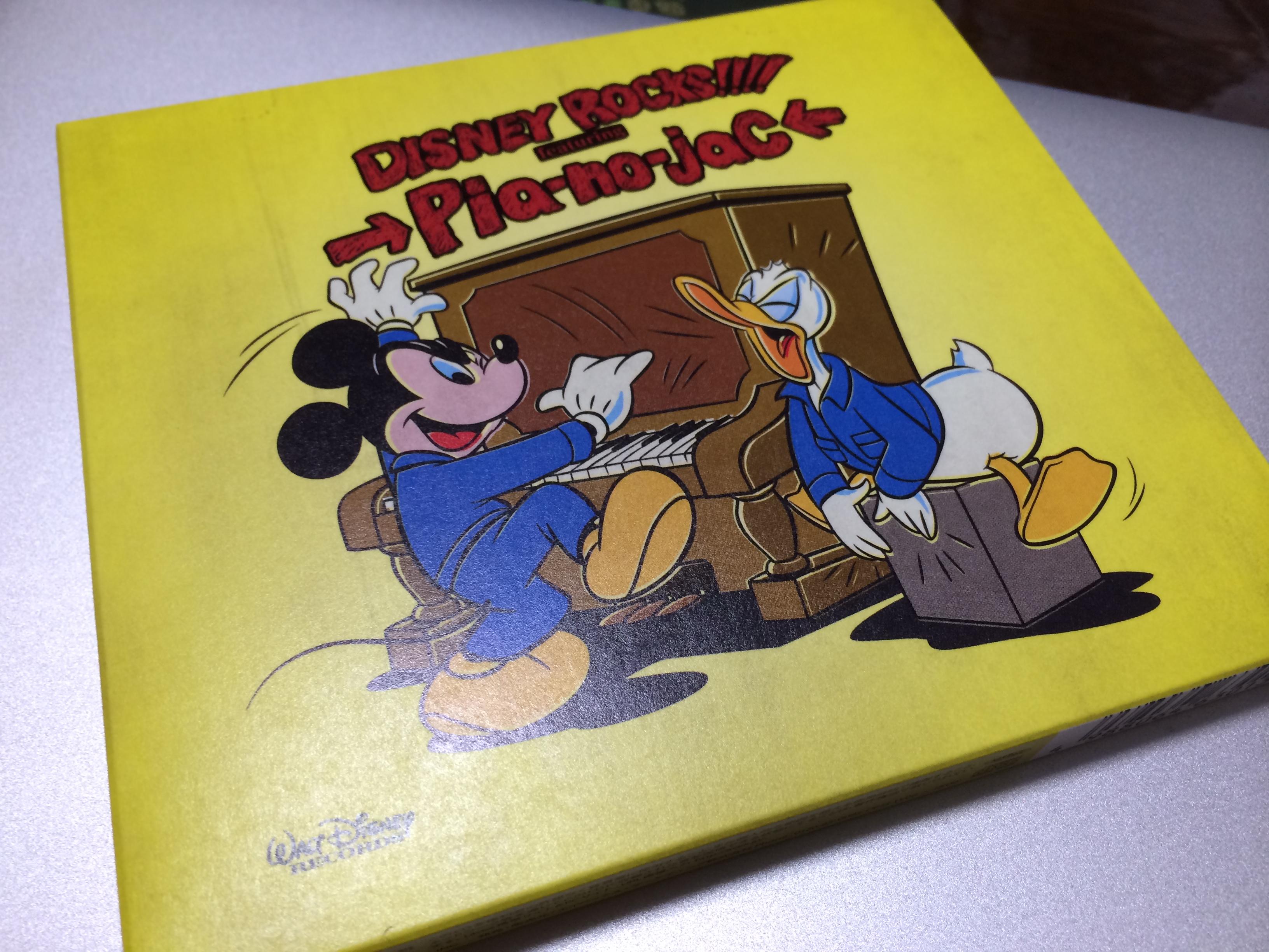 ヴィレバン仕様の「Disney Rocks!!!! featuring →Pia-no-jaC←」を買ったのでレビュー!