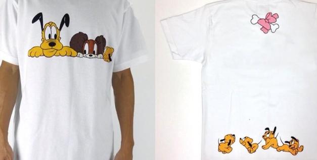 パニカムからプルートとフィフィのTシャツが発売されました