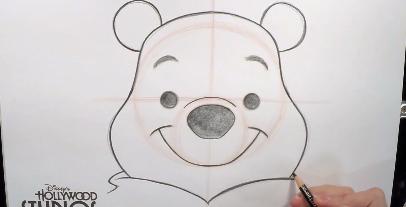 プーさんの描き方を教えてくれる動画が公開されました![公式]