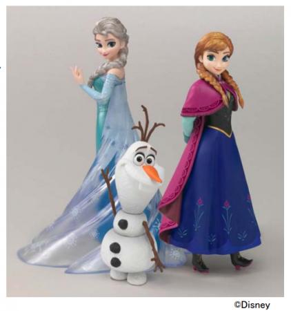 アナと雪の女王フィギュアーツZERO