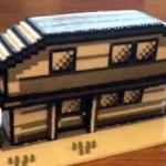 ポケモンの家、アイロンビーズ作品