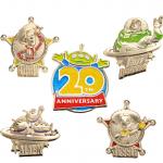 トイストーリー20周年のピンバッジがディズニーストアで新発売!