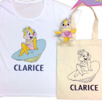クラリスのTシャツ&マスコットチャームセットがパニカムで発売!