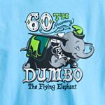 ディズニーランド60周年のダンボのTシャツがセンス良い!