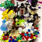 不思議の国のアリスの世界観を表現したレゴ作品が凄い!