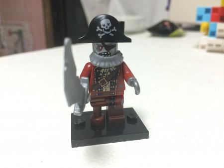 「ミニフィギュア シリーズ14」海賊