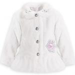 エルサをイメージした子供用ジャケットコートがモフモフして可愛い♪