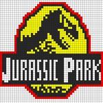 ジュラシックパークのアイロンビーズ図案をまとめてみました!