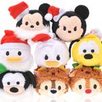 クリスマスバージョンのツムツムが11月1日からディズニーストアで発売!