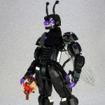 レゴで作られた八頭身のバイキンマンが凄すぎる!まるでテラフォーマーズ!
