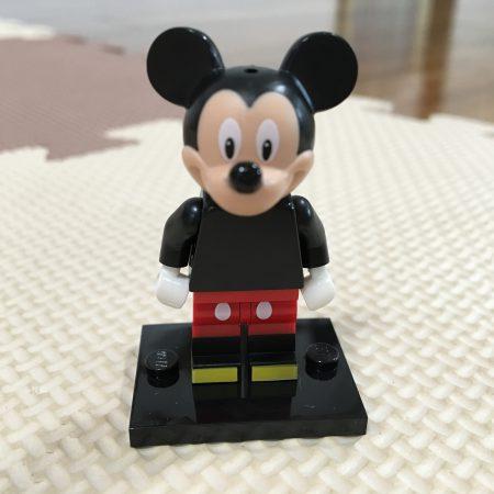 レゴ、ミニフィグ「ミッキーマウス」
