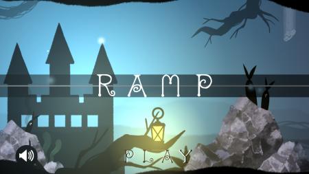 「RAMP」タイトル画面
