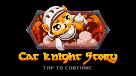 「Cat Knight」タイトル画面