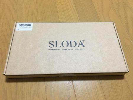 SLODA製バッテリー外箱画像(Macbook air)