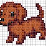 犬のアイロンビーズ図案をまとめてみました!